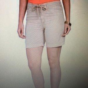 Lauren Ralph Lauren Plus Size Drawcord Chino Short